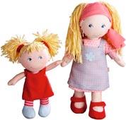 Haba tygdockor systrar Lennja & Elin