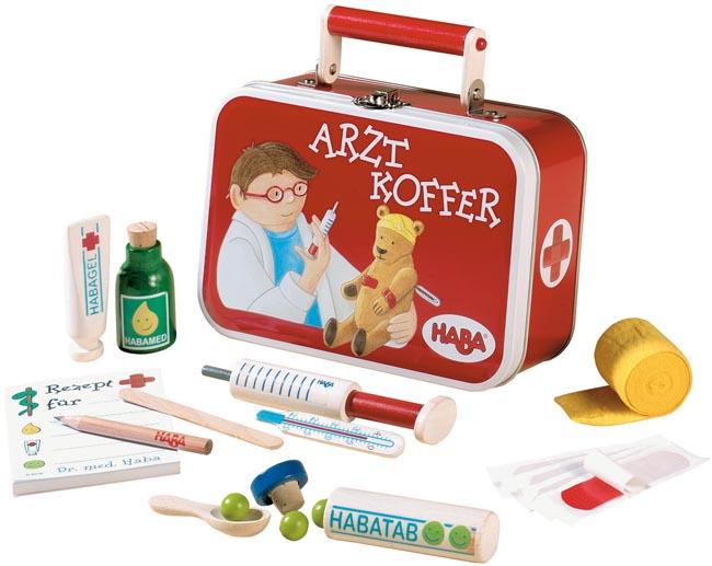 doktor leksaker trä