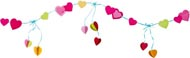 Haba Girlang Hjärtan