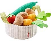 Haba Leksaksmat Grönsaker i korg