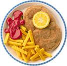 Leksaksmat Schnitzel & pommes frites