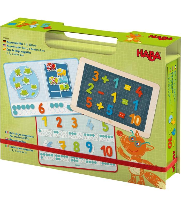 Haba Magnetisk leklåda 123