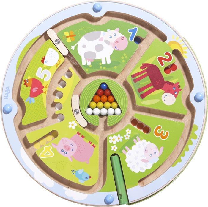 Haba Magnetspel Nummer labyrint