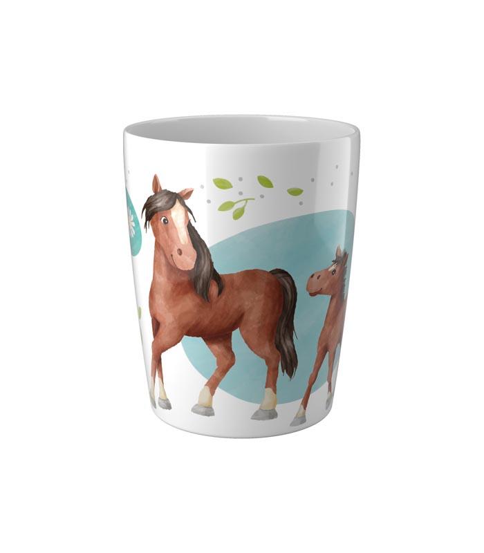 Haba Barnmugg Hästar