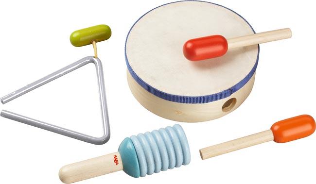 Haba Musikinstrument Slagverks set