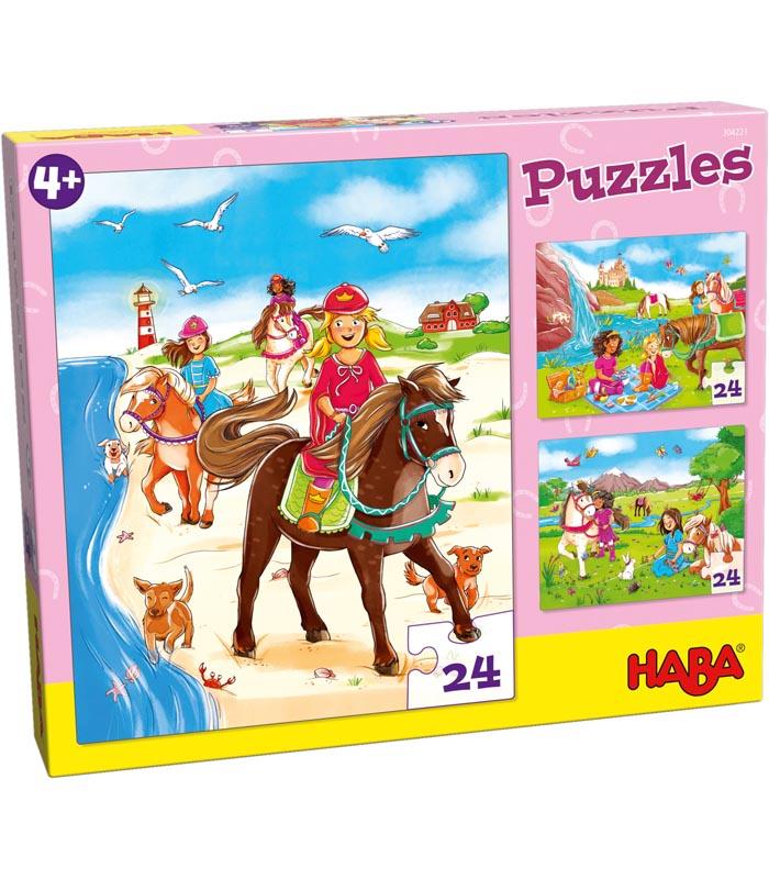 Haba Barnpussel Hästtjejer