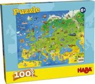 Haba Barnpussel Karta Europa