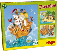Haba Barnpussel Pirater