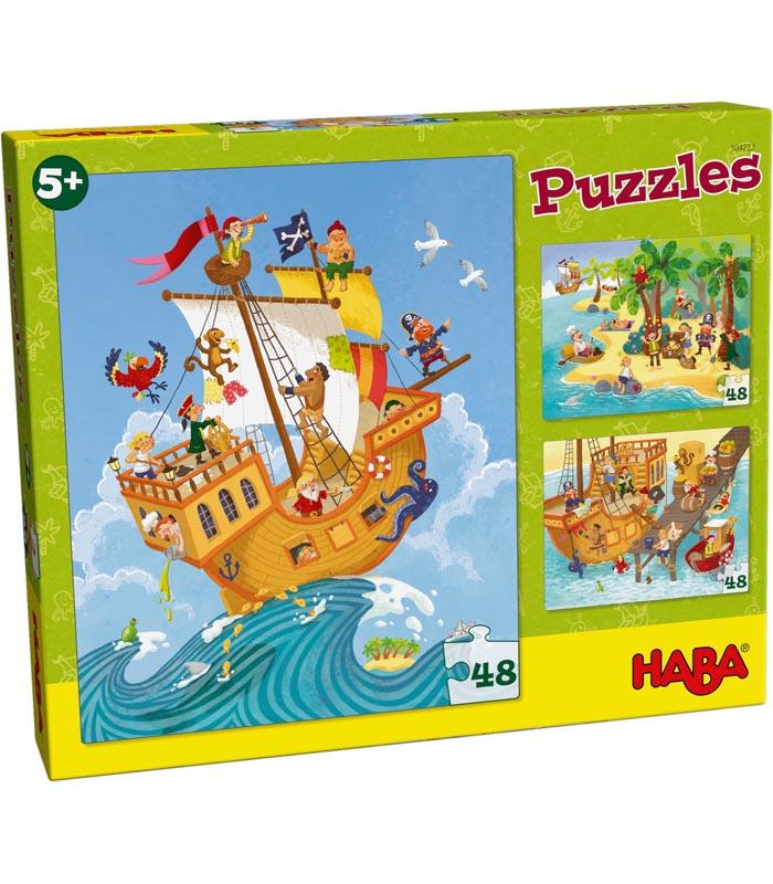 Haba Barnpussel Pirater