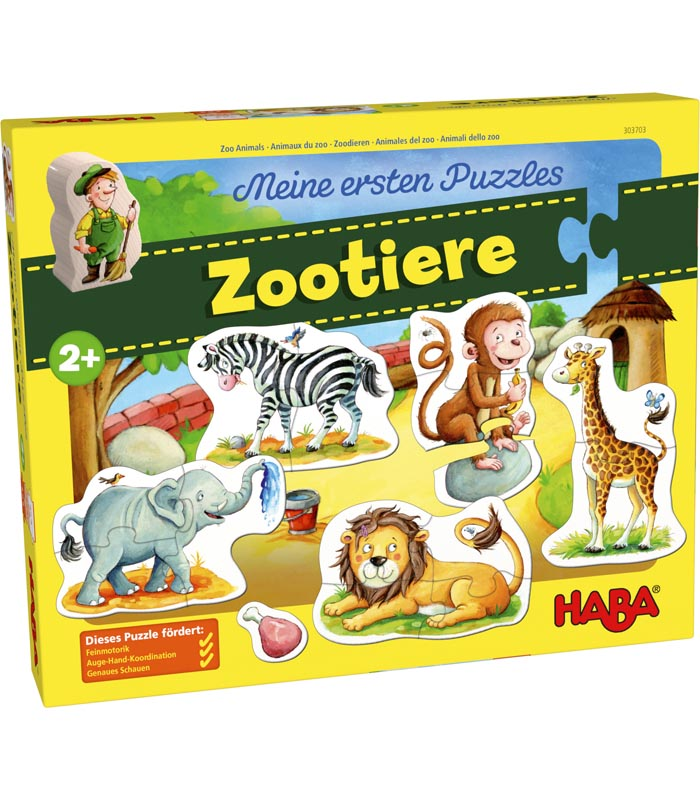 Haba Barnpussel Zoo