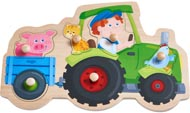 Haba Knoppussel Jolly Traktor