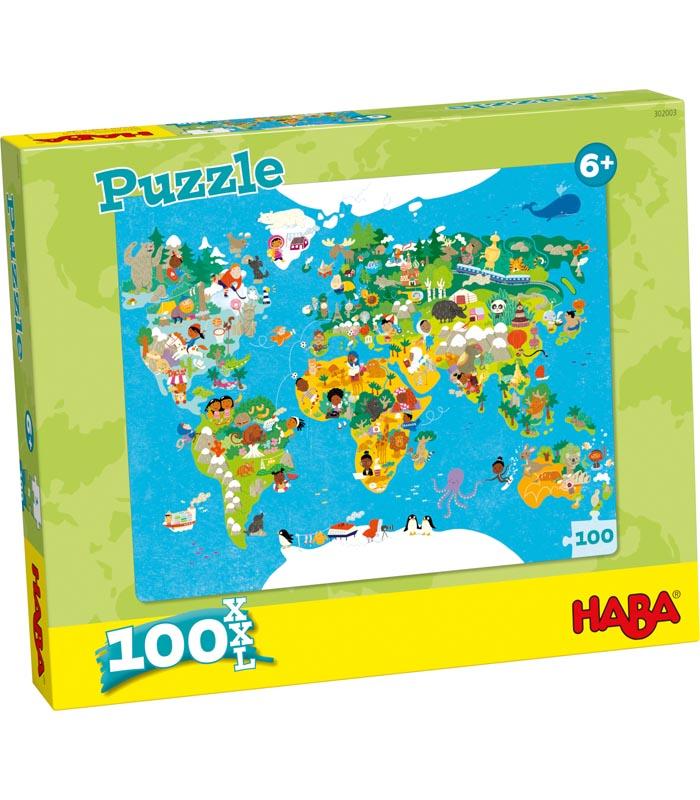 Barnpussel Världskarta