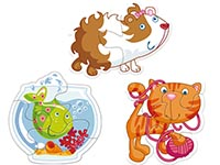 Haba Barnpussel Djur - Sex djur & mat