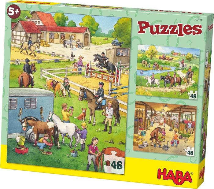Haba Barnpussel Hästfarm