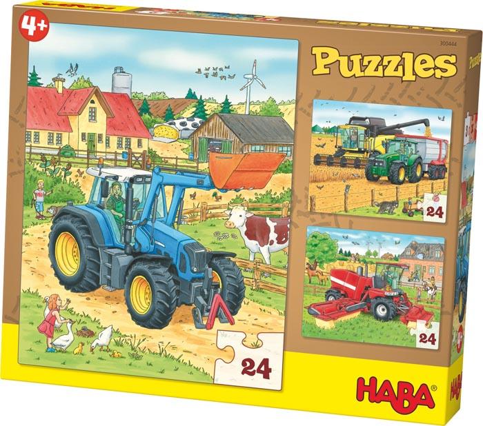 Haba Barnpussel Traktor