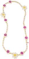 Halsband Blommor vitt