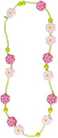 Halsband Rosa blommor