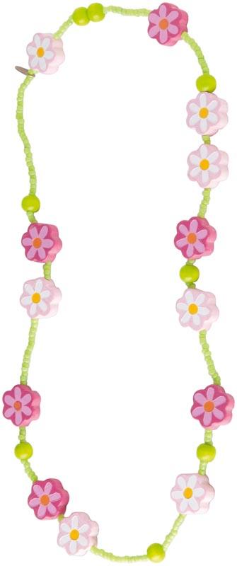 Haba Halsband Rosa blommor