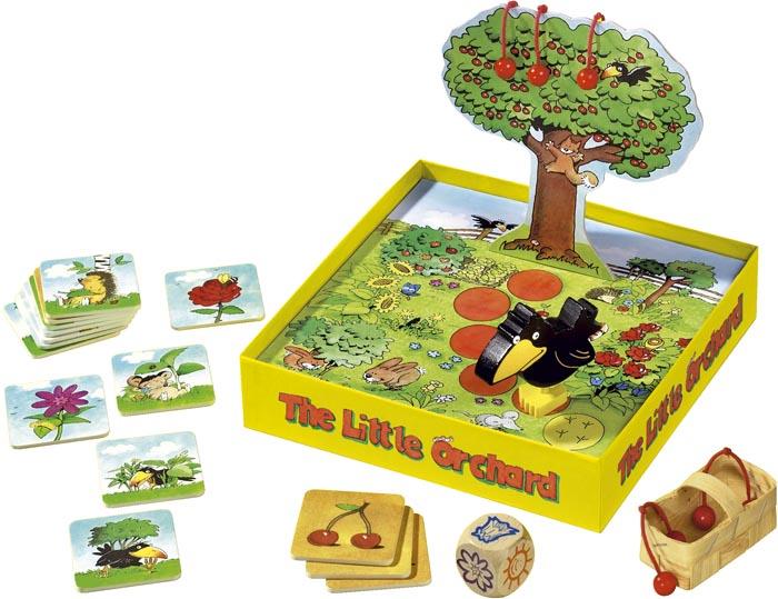 Haba Spel Lilla fruktträdgården