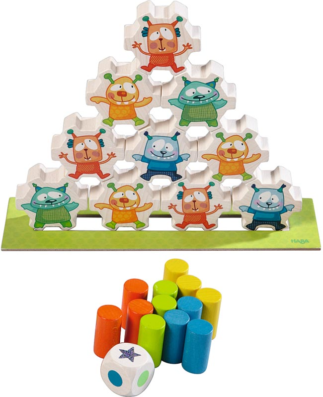 Haba Spel Stapla mini monsters