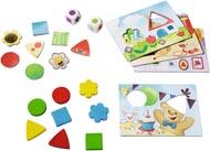 Spel Teddy´s färger och former