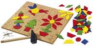 Haba Spika mönster Geometriska former stor