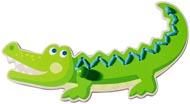 Träpå Krokodil