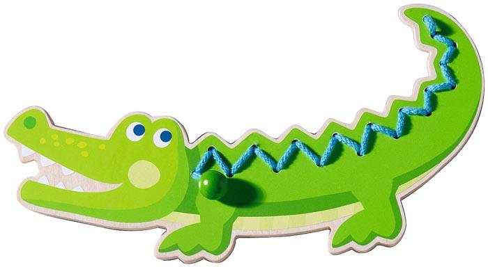 Haba Träpå Krokodil