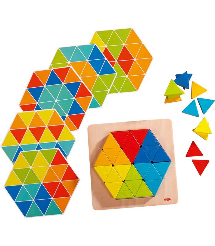 Haba Läggspel Magiska pyramider