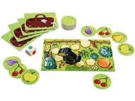 Spel Fruktträdgården memory