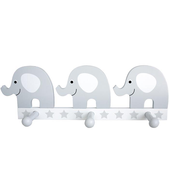 Jabadabado Hängare Elefant grå