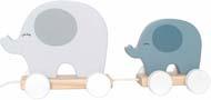 Jabadabado Dragdjur elefant grå
