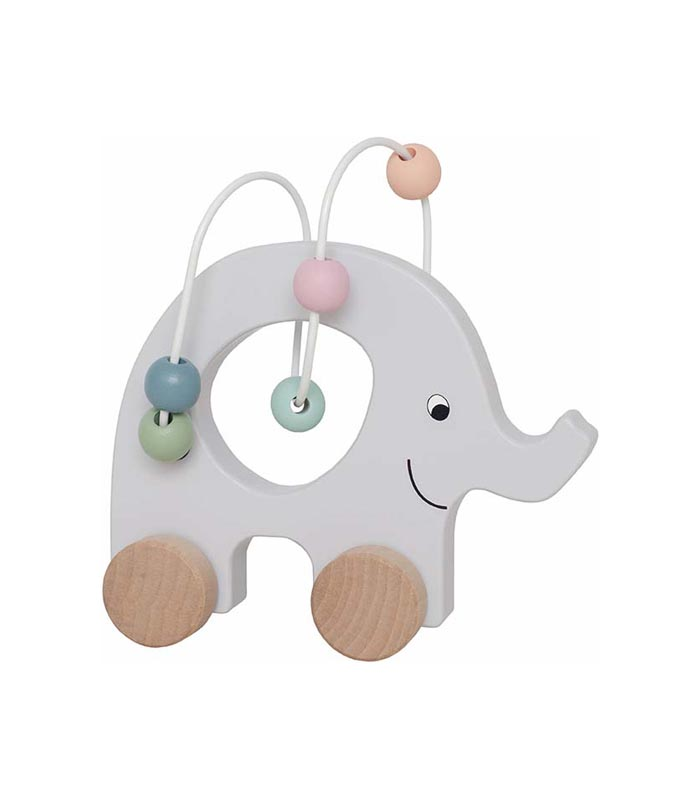 Rulldjur Elefant med kulram