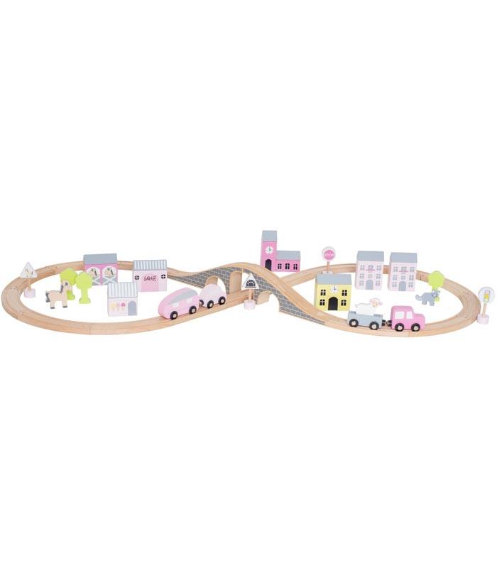 Jabadabado Bilbana med väg rosa