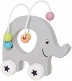 Jabadabado Rulldjur elefant med trådbana