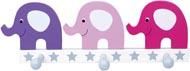 Hängare Elefant rosa