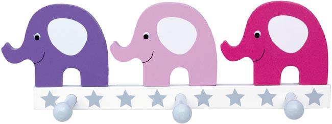 Jabadabado Hängare Elefant rosa