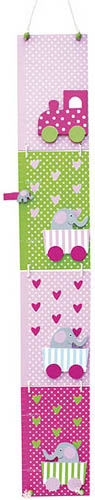 Jabadabado Mätsticka Elefant rosa