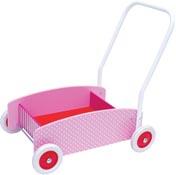 Jabadabado Lära gå vagn Rosa