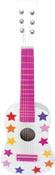 Musikinstrument Gitarr stjärna rosa