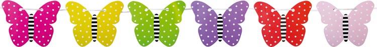 Jabadabado Vimpel Fjäril
