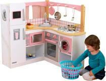 Kidkraft Stort barnkök vinkel Vitt