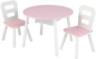 Kidkraft Barnbord & 2 barnstolar - rosa