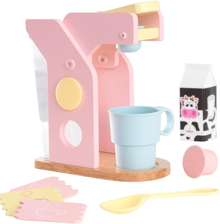 Kidkraft Kaffemaskin i trä, leksak till barn Trä Otto Webbshop