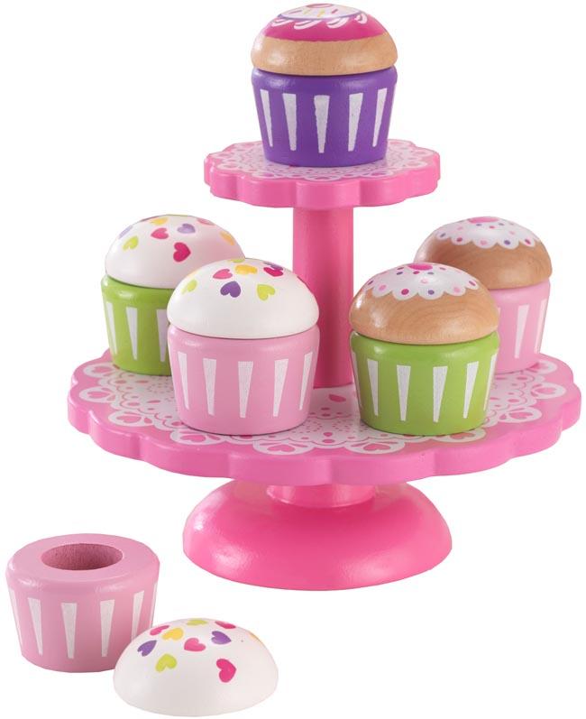 Kidkraft Leksaksmat Kakfat med Cupcakes
