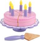 Leksaksmat Tårta på kakfat