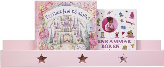 Kids Concept Boklist Star ljusrosa