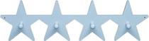 Hängare Star ljusblå