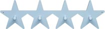 Kids Concept Hängare Star ljusblå