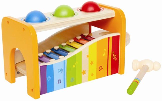 Bultbräda med xylofon
